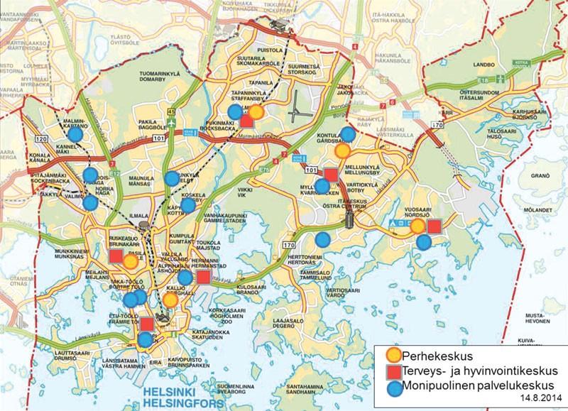 Pohjois Helsinki Kartta | Kartta