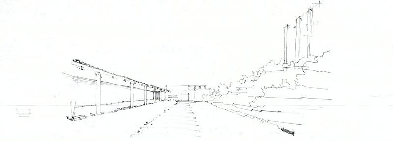 Alvar Aalto -museon arkistoista kuratoidut piirustukset kertovat, miten Aallon suunnitelmissa maisemalla oli suuri merkitys.