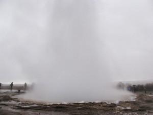 Strokkur on yksi Islannin geysireistä. Kaikki geysirit ovat saaneet nimensä Strokkurin viereiseltä Geysiriltä.