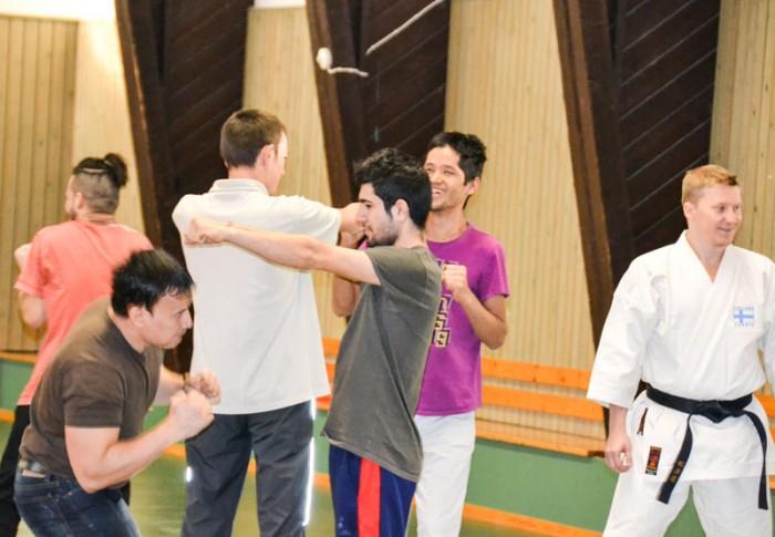 turvapaikanhakijat karate