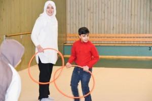 Naisille ja lapsille halutaan myös tarjota liikuntamahdollisuus.