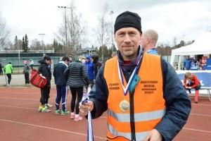 Kisaorganisaattori Juhani Meskasella riitti tekemistä sunnuntaina.