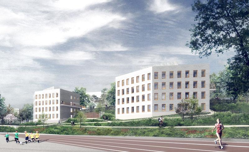viikin uudet talot
