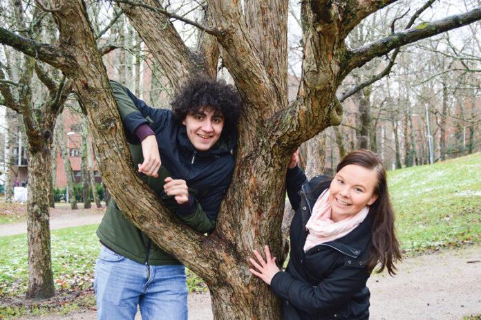 Youssef Asad Alkhatib ja Anne Arrenius.